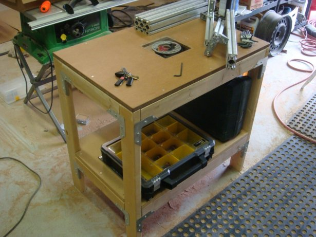 Router Table Adapter