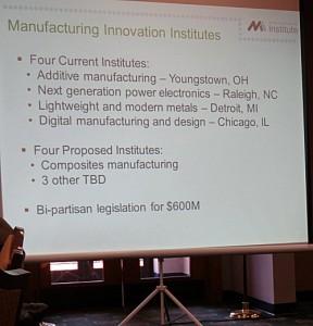 Manufacturing Innovation Instiutes web