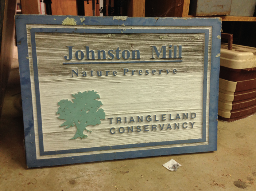 OLD JOHNSTON MILL SIGN