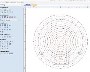Tool-path inV-Carve Pro.
