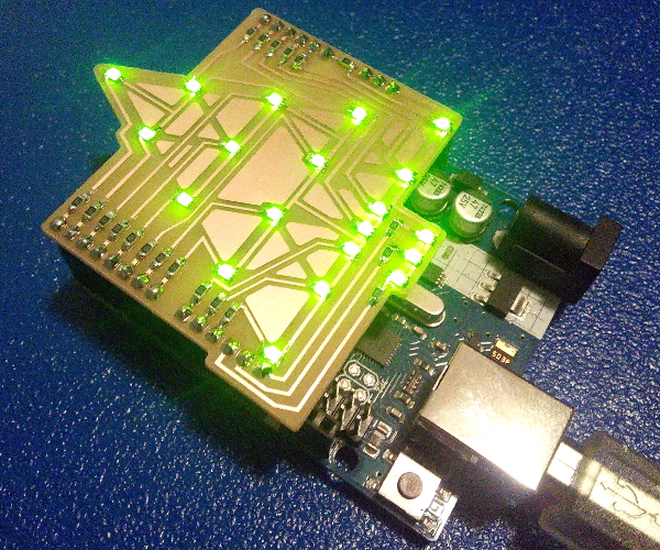 Xmas Tree Arduino Shield