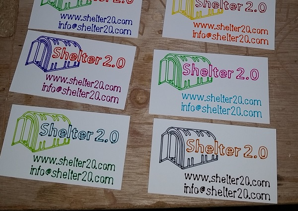 Handibotted business cards